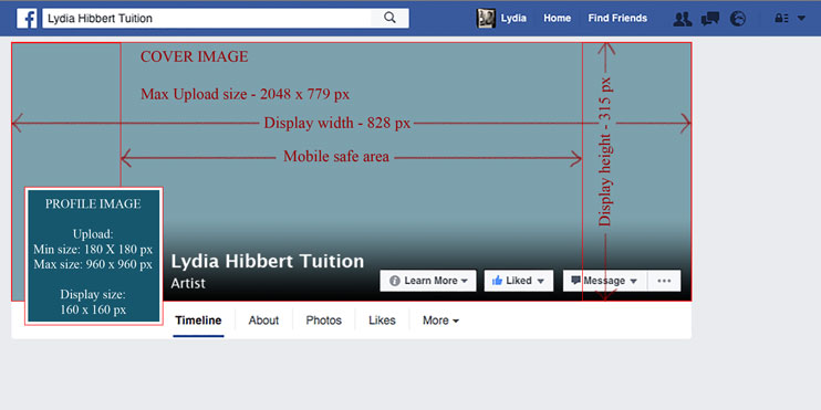 your facebook cover image tips templates and tutorials lh